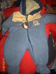 Deux par Deux Infant's Snowsuit Size 6months