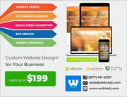 Affordable Custom Website Design and Development Service